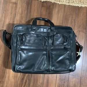 Tumi Expandable briefcase
